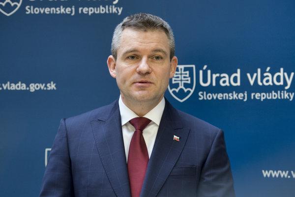 Podpredseda vlády pre investície a informatizáciu Peter Pellegrini (Smer)