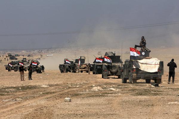 Iracké jednotky smerujú k západnej časti Mósulu.