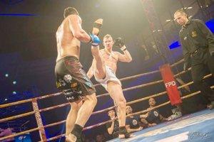 Kickboxer Martin Pacas má latku nastavenú vysoko.