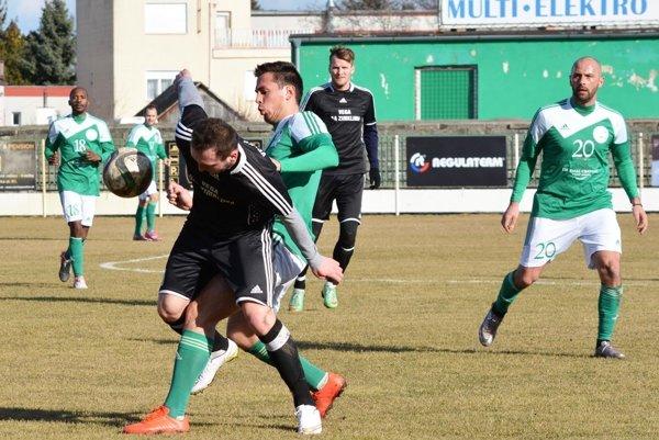 Snímka zo zápasu Veľký Meder - Veľké Lovce (2:1).