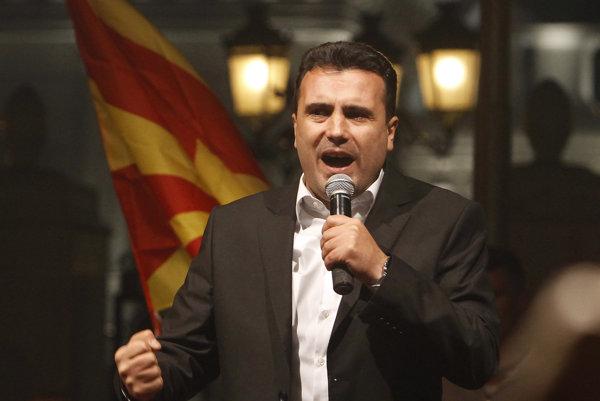 Líder Sociálnodemokratického zväzu Macedónska Zoran Zaev.