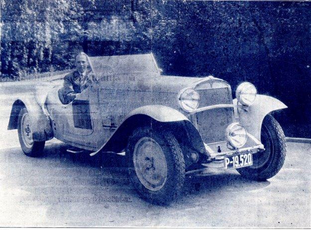 Automobil Praga Alfa.