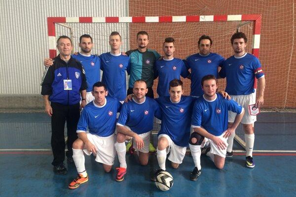 Hráči Športového klubu nepočujúcich z Trenčína reprezentovali Slovensko na turnaji Ligy majstrov.