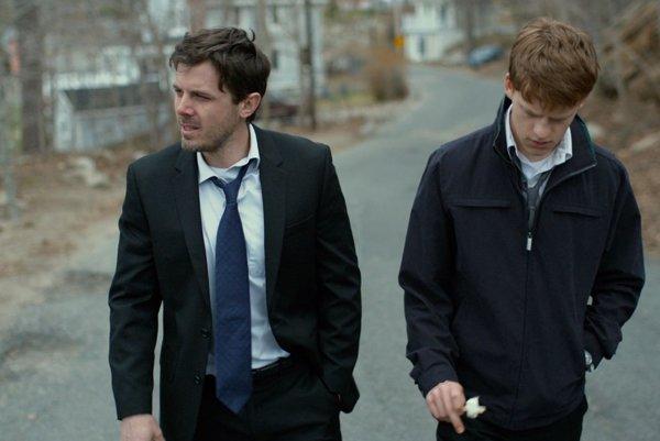 Casey Affleck a Lucas Hedges.Jeden Oscara má, druhý naň bol nominovaný.