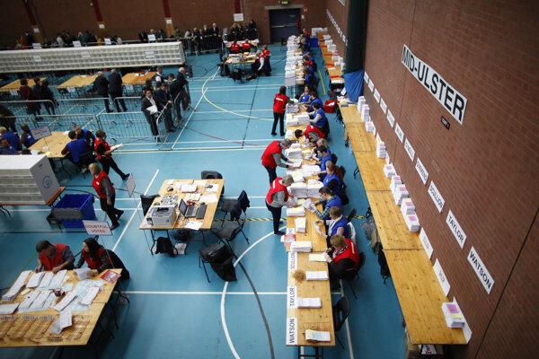 Voľby v Severnom Írsku vyhrali unionisti.
