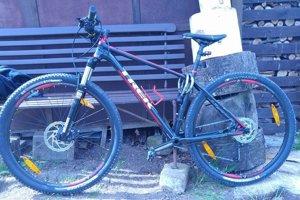 Jeden z ukradnutých bicyklov.