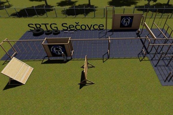 Takto nejako by mohlo vyzerať tréningové centrum, ktoré postaví SRTG Sečovce.