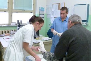 V dvoch nemocniciach Levického okresu je dovedna 16 ukrajinských lekárov.