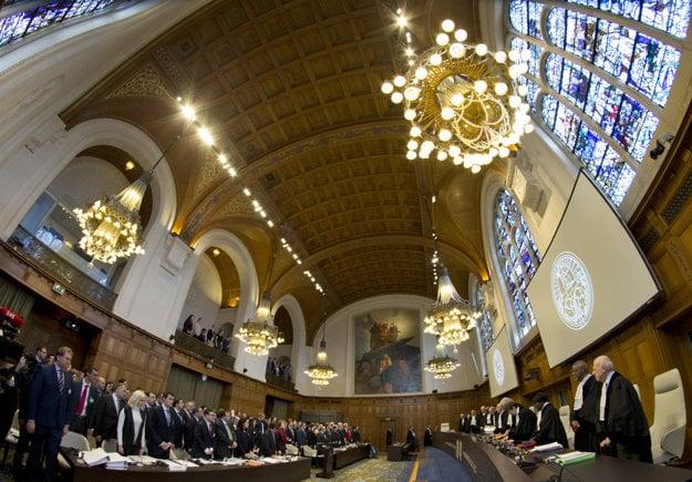 O procese Ukrajina proti Rusku rozhodne Medzinárodný súdny tribunál.