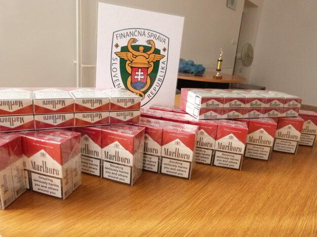 Zaistené nelegálne cigarety