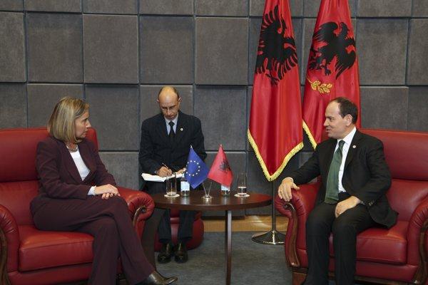 Albánsky prezident Bujar Nishani.