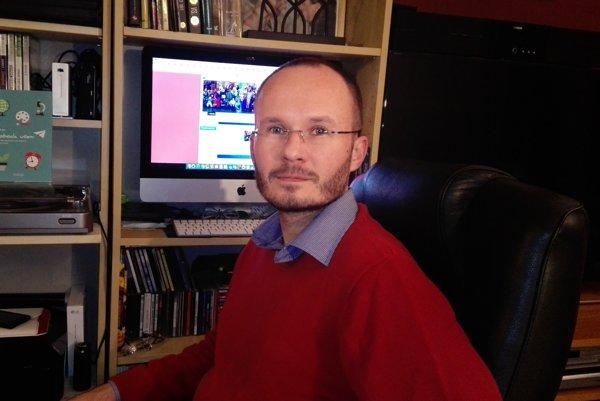 Nikola Nižník, riaditeľ školy v Jastrabej
