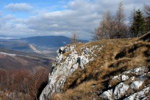 Na vrchole Folkmarskej skaly.
