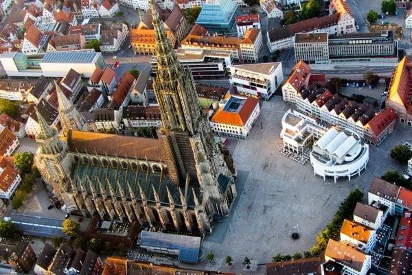 Dóm v Ulme má najvyššiu vežu na svete.