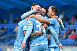 Futbalisti Slovana majú na jar skvelú formu.