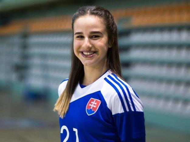 Oddnes do nedele ju čakajú reprezentačné povinnosti v tíme junioriek SR.