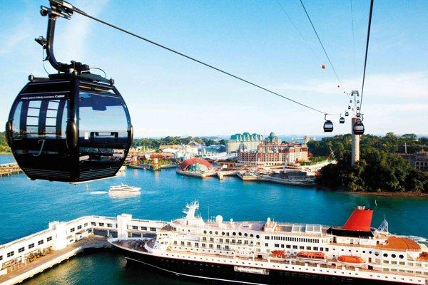 Lanovka podobná tej v Singapure by mala spojiť aj brehy Dunaja v Bratislave.