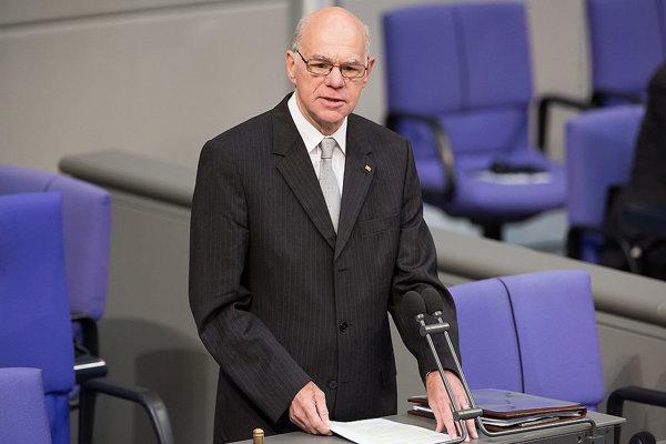 Predseda nemeckého Bundestagu Norbert Lammert.