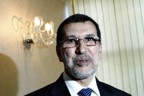 Marocký premiér Saad ad-Dín Usmání.