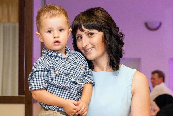Alena Jančoková Žáčiková s 3,5-ročným synom Matejom.