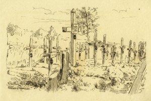 Kresba z denníka Františka Krejčího.