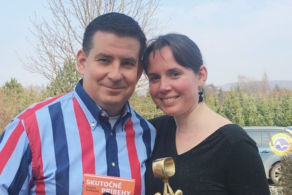 Zuzana Štelbaská a Patrik Herman. Porozprávajú viac o knihe aj svojej práci.