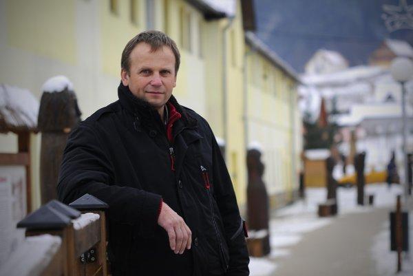 Vladimír Ledecký. Starosta Spišského Hrhova.