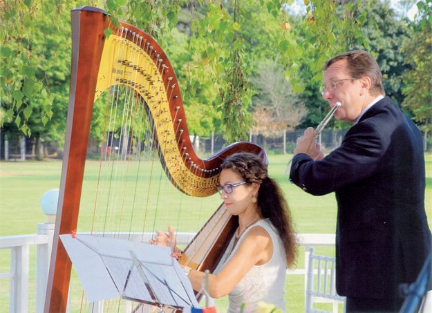 Koncert pre priateľov na svadbe v Tomášove