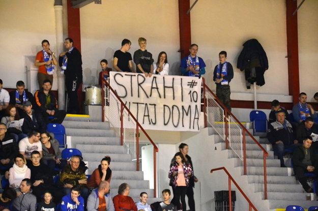 Podpora fanúšikov.