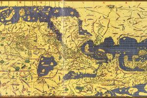 Napodobenina Tabula Rogeriana z roku 1927.