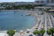 Rodos je obľúbenou turistickou destináciou.