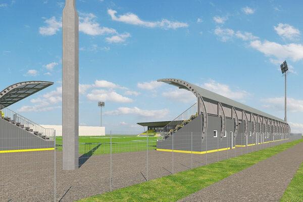 Vizualizácia budúcej podoby štadióna.