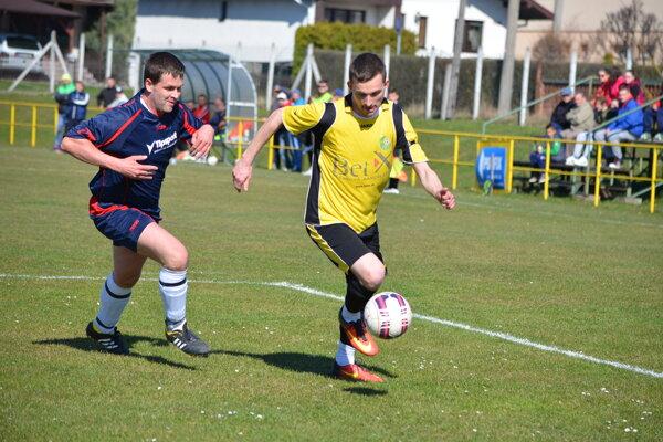 V Bystričanoch sa hral opäť skvelý zápas.