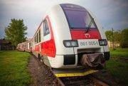 Dieselmotorová súprava radu 861 z predchádzajúceho projektu EÚ.