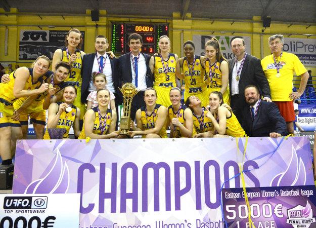 Šampiónky súťaže. Domáce prostredie vo Final Eight využili košické basketbalistky naplno.