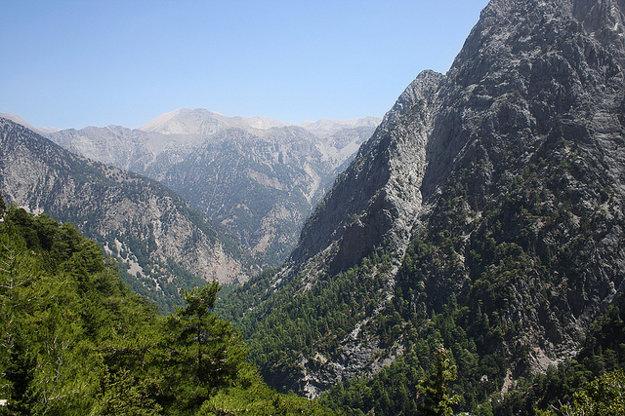 Populárnym miestom na Kréte je aj Národný park Samaia.