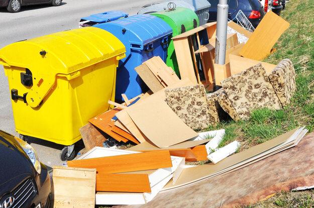 Tento odpad patrí do zberného dvora.
