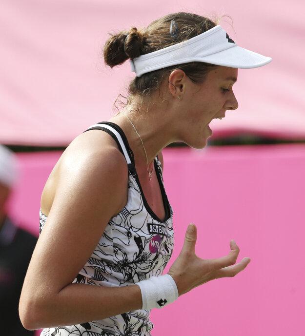 Jane Čepelovej zápas nevyšiel podľa predstáv.