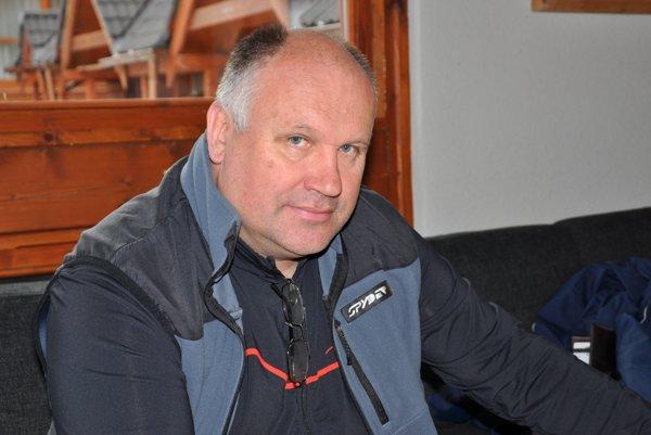Športový riaditeľ TK Vysoké Tatry Peter Simčák.