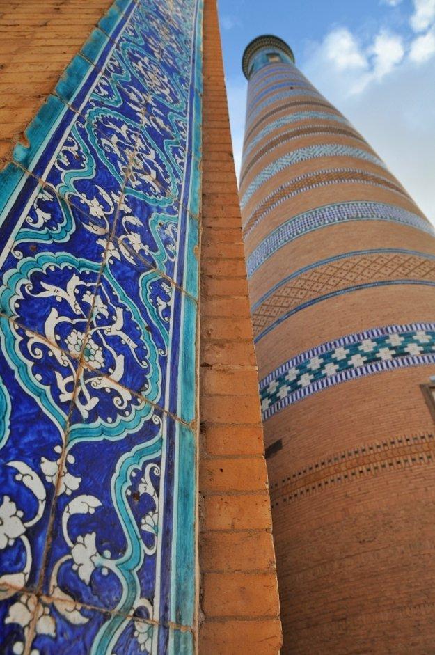 Pod minaretom Islam Hodža.