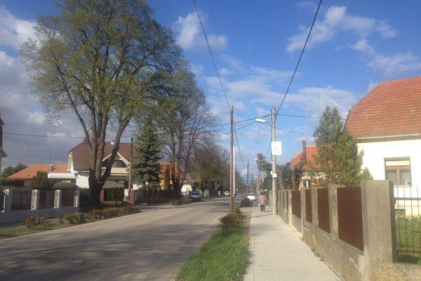 Ustianska ulica v Trnave.