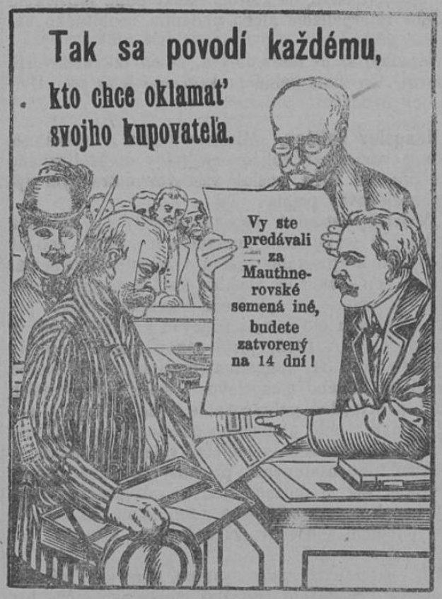 Národnie noviny z 12. 3. 1914