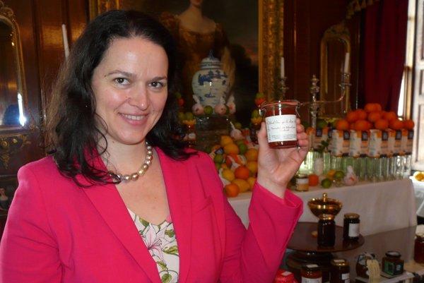 Jozefína Růžičková so svojimi ocenenými marmeládami.