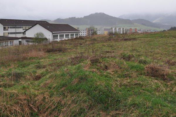 Pozemky na lúka chce radnica vydražiť.