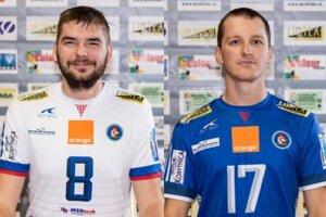 Zľava Patrik Šimko a Marek Hraňo.