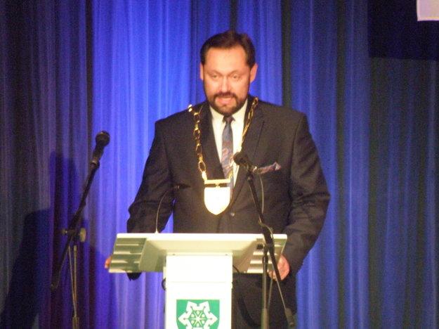 Súčasťou otvorenia slávnostného galavečera bol aj príhovor primátora mesta Otokara Kleina