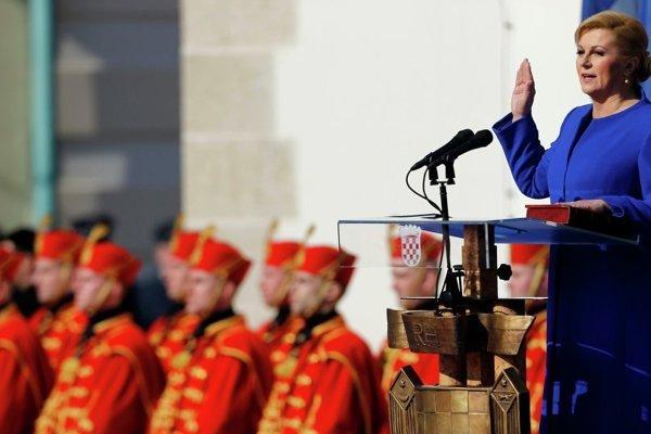 Chorvátska prezidentka.