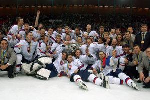 Najväčším úspechom slovenského hokeja je do dneška zisk zlata v roku 2002.