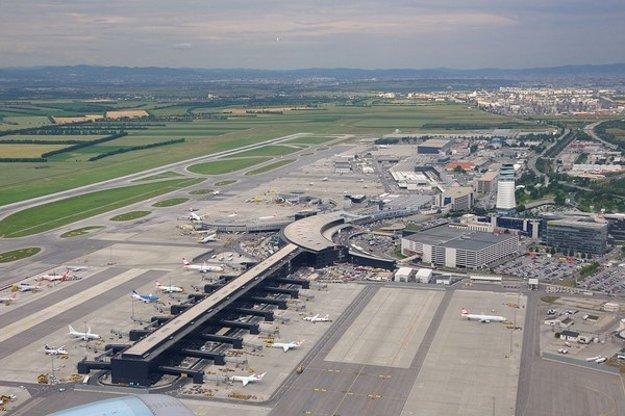 Letisko Viedeň-Schwechat.