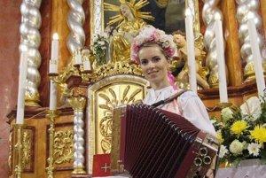 Chrámový koncert heligonkárky Vlasty Mudríkove sa uskutoční už túto nedeľu.